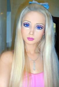 Anonymous Human Barbie