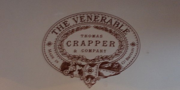 source// http://en.wikipedia.org/wiki/File:Thomas_Crapper_Toilet_Horta_Museum_Branding.jpg